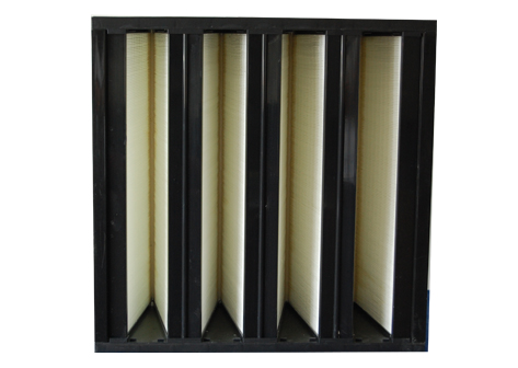 Efficiency air filter (standard V-shaped
